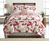 Pacific Coast Textiles Printed Reversible Bed in A Bag, Florentina Twin, 6-Piece