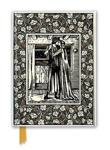 William Morris: The Story of Troilus and Criseyde (Foiled Journal) (Flame Tree Notebooks)