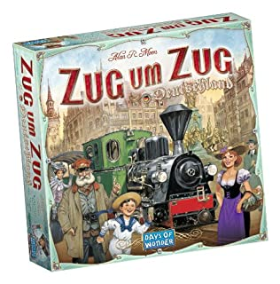 Days of Wonder 851761 - Zug um Zug Deutschland (B0086TD2B6) | Amazon Products