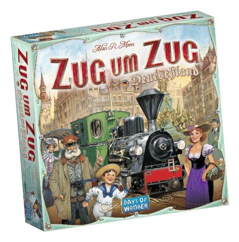 Preisvergleich Produktbild Days of Wonder 851761 - Zug um Zug Deutschland