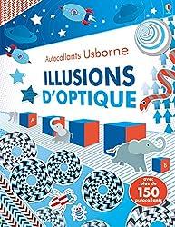 Illusions d'optique - Autocollants Usborne