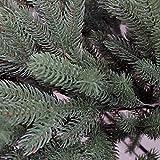 150 cm exklusiver, hochwertiger künstlicher PE Luxus Weihnachtsbaum, 100% Spritzgussnadeln ca. 2375 Spitzen, mit Metallständer, Minutenschneller Aufbau mit Klappsystem, schwer entflammbar, HXT 1418 - 5