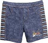 Playshoes Jungen Badeshorts AHOI mit UV-Schutz, Blau (Jeansblau 3), 122 (Herstellergröße: 122/128)