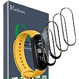 Ferilinso [4 Pack Pellicola Protettiva per Xiaomi Mi Band 5, [Copertura Completa] [Adsorbimento anidro] [Compatibile con Il D