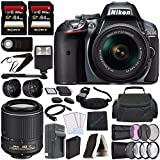 Best Nikon Batteries For Flashes - Nikon D5300 DSLR Camera with 18-55mm Lens (Grey) Review