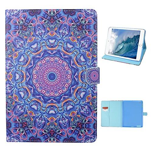 Tasche mit auto Sleep / Wake für iPad 4, iPad 2 Hülle Leder, iPad 3 Bumper Hülle, Moon mood® mit Auto Wakeup / Untätigkeit Funktion Ledertasche für Apple iPad 2/3/4 (9.7 Zoll) , PU Leder Cover Hülle F 1 Totem D