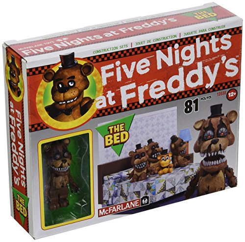 McFarlane Toys Five Nights At Freddy's The Bed Construction Set