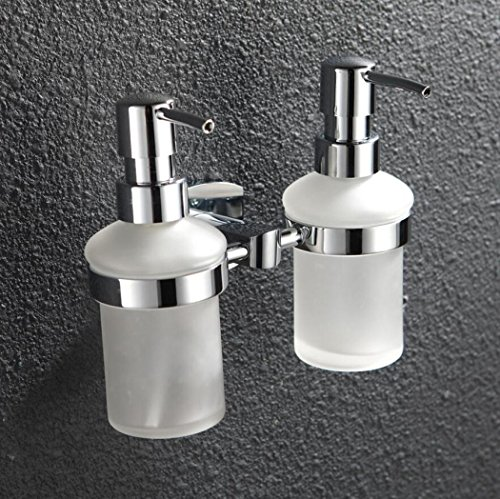 LyMei liquid hand soap dispenser,Shower Gel Shampoo Soap Wall Mount Hotel, Family Villa Special Toilet Bathroom Soap Dispens