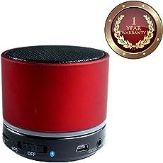 Elevea Mini S10 Portable Wireless Small Round Bluetooth Speaker (Assorted)
