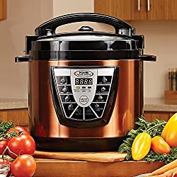 Powercooker XL 8 QT. Deluxe (Copper) by Power Pressure Cooker XL