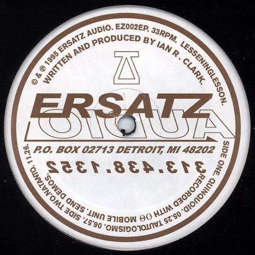 Ez-ersatz (Lessening Lesson - Lesseninglesson - Ersatz Audio - EZ-002)