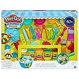Play-Doh de cuisine Creations ultime Chef Ensemble-Créez et faire des repas avec Play-Doh Ustensiles de Cuisine-40+ pièces et 10canettes de Play-Doh