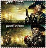 Pirates of The Caribbean (24x25 inch, 60x63 cm) Silk Poster Seda Cartel PJ1D-BBDD
