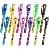 Penne a inchiostro invisibili, penna spia da 12 pezzi con a raggi UV per messaggio segreto, riempitivi per sacchetti a…