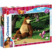 Clementoni - Puzzle Masha and the Bear, 60 piezas (260461)