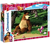 Clementoni 26046 - Masha e Orso Puzzle, 60 Pezzi