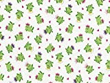 Timeless Treasures Mini Frosch Princes Popeline Quilting