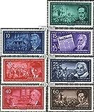 Prophila Collection DDR 472-478 (kompl.Ausg.) Bedarfsstempel 1955 Führer der dt. Arbeiterbewegung (Briefmarken für Sammler)