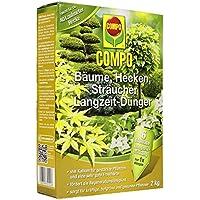 Compo Largo Tiempo abono Árboles, Setos, arbustos 2kg, Verde