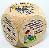 Gebetswürfel Tischgebete für Kinder - Christshop-Version -