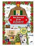 Mein Stickerbuch f�r den Advent: 24 x Stickerspa� Bild