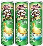 Pringles Sour Cream and Onion Crisps 190 gr. - 3-er Pack