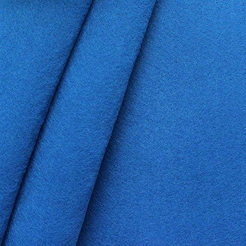 Bastel Filz Stoff Stärke 3,0mm Breite 90cm Meterware Royal-Blau