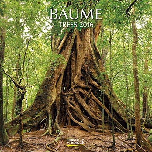 Bäume 2016: Broschürenkalender mit Ferienterminen