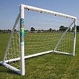 SAMBA Fun Goal Range - The Original Samba Football Goal as used by your School or Football Club - Fully weatherproof outdoor garden goal with rot-proof football net.