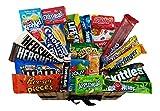 Heavenly Sweets Amerikanischer Süßigkeiten und Schokoladen Geschenkkorb - Version 1 - Large - schöne Schachtel