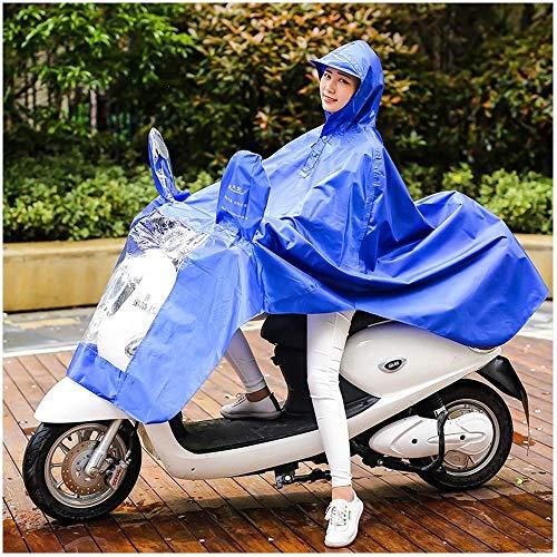 Guyuan Regenmantel elektrische Motorrad großen Hut Männer und Frauen wasserdicht Regenmantel Männer und Frauen Erwachsene einzigen Outdoor-Männer und Frauen Poncho mit Spiegelabdeckung