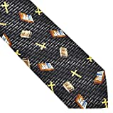 The Bible Tie for Christians, Vicars, Clergymen and Preachers