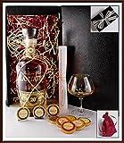 Plantation Extra Old 20th Rum Geschenk Set mit 9 DreiMeister Edel Schokoaden & 1 Perfect Nosing Glas, kostenlose Lieferung