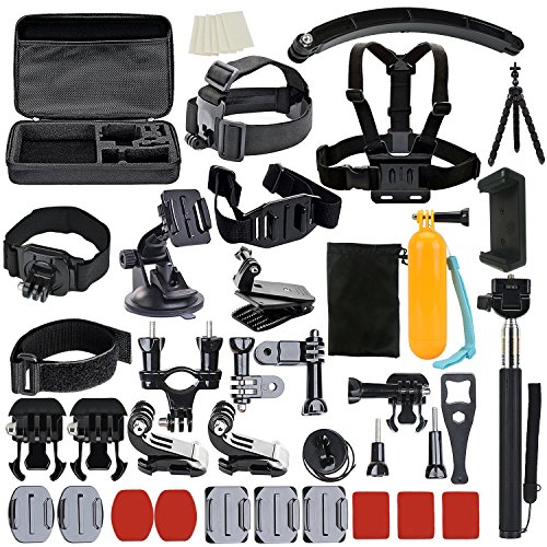 61zQxetX2cL BEST BUY UK #1UBeesize Accessories Kit for GoPro Hero 5/4/3/2/1 Black Silver and SJ4000 SJ5000 SJ6000, Camcorder Accessories Set and Outdoor Sports Kit for Xiaomi Yi/Lightdow/WiMiUS/DBPOWER price Reviews uk