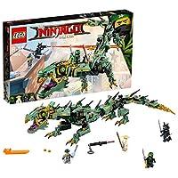 Lego Ninjago 70612 - Mech Drago Des Verdi Ninja - Conosciuto il Lego Ninjago Film - I modelli LEGO Ninjago sono compatibili con tutti i set di edifici creativi LEGO; Fif44 parti-per ragazzi e ragazze di età compresa tra 8 e 14 anni - Der Mech...