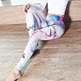 Uskincare Damen Yoga und Fitness Leggings - 3