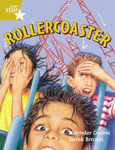 Rigby Star Guided 2 Gold Level: Rollercoaster Pupil Book (Single) by Narinder Dhami (2000-04-15)