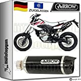 ARROW KIT AUSPUFF THUNDER DARK CARBONKAPPE YAMAHA WR 125 X 2009 09 2010 10 52505AKN