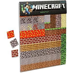 minecraft sheet magnets magnete k che haushalt. Black Bedroom Furniture Sets. Home Design Ideas