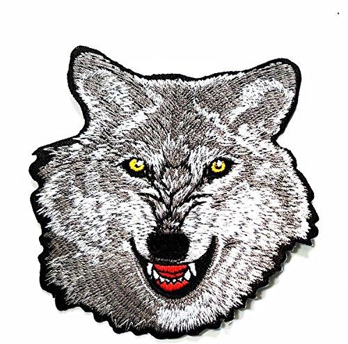 Wolf Cartoon bestickt Nähen Eisen auf Patch Cartoon -