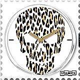 Stamps Cadran de montre Stamps skully leo 4 x 4 cm