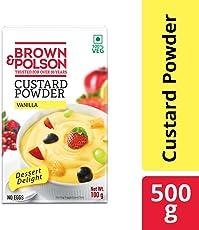 Brown and Polson Vanilla Custard Powder, 500g