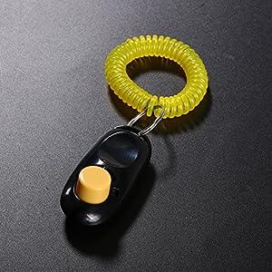 GLOBEAGLE Sifflet de Dressage à ultrasons pour Chien + clicker de Dressage + lanière Offerte