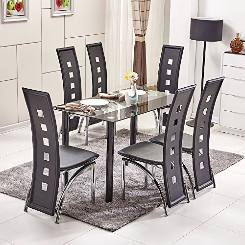 ospi-clear-with-black-trim-tempered-glass-dinner-table-high-piano-back-leather-cover-chairs-sets-1-t