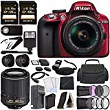 Best Nikon Batteries For Flashes - Nikon D3300 DSLR Camera with 18-55mm AF-P DX Review