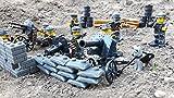 Modbrix 17002 ✠ Wehrmacht Artillerie Schützengraben inkl. 8 custom Minifiguren über 300 Teile ✠