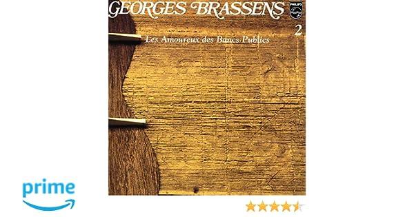 Les Amoureux Des Bancs Publics N 2 Georges Brassens Amazonfr