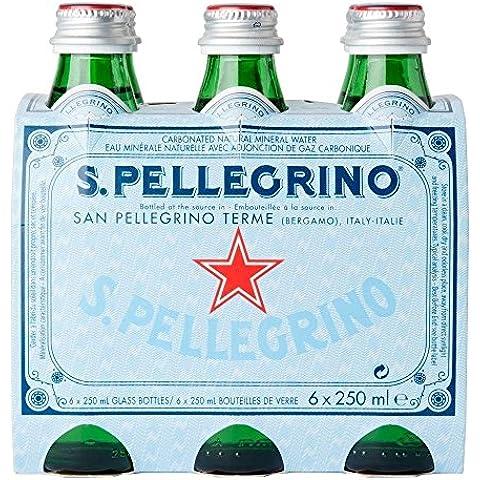 San Pellegrino Agua Mineral Natural Con Gas (6X250ml)