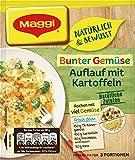 Maggi Familien fix & frisch Überbackenes Gemüse mit Kartoffeln, 44 g Beutel, ergibt 3 Portionen