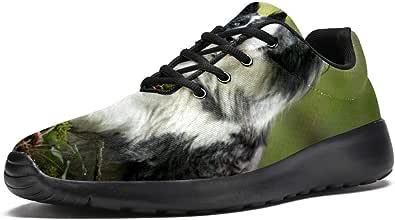 LORVIES Border Collie - Scarpe sportive da uomo per cani e animali domestici
